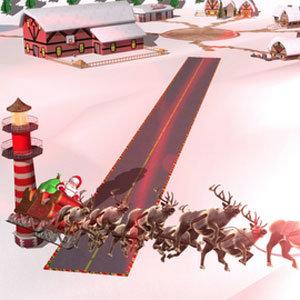 Track Santa Website