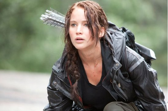 26. Lawrence Cast in Hunger Games