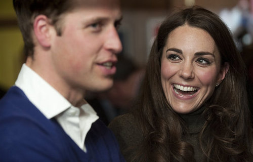 Kate looked happy with Prince William at a 2011 charity event.
