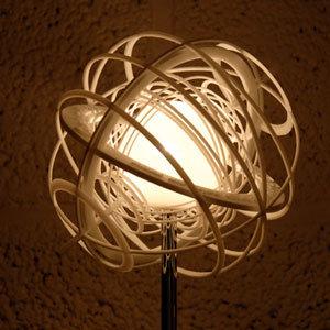 3D Printed Table Lamp