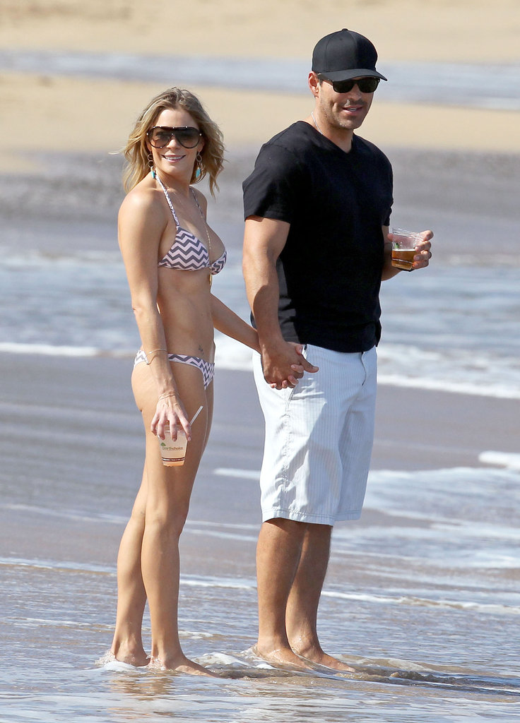 LeAnn Rimes Enjoys Bikinis, Bocce, and Beer in Hawaii