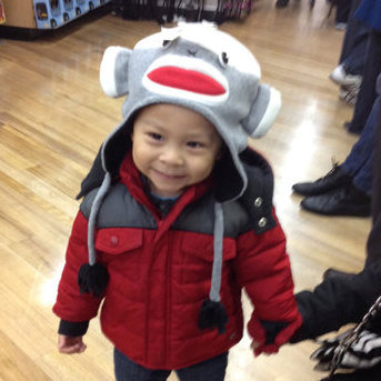 Picture of Cute Toddler in Hat