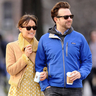 Jason Sudeikis and Olivia Wilde NYC Coffee Date Pictures