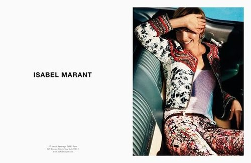 Isabel Marant Spring 2012 Ad Campaign