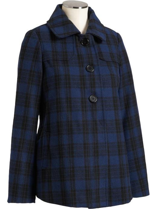 Old Navy Maternity Wool Blend Coat ($28)