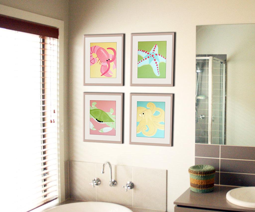 Bathroom Artwork Ideas Art Deco Bathroom Designs To