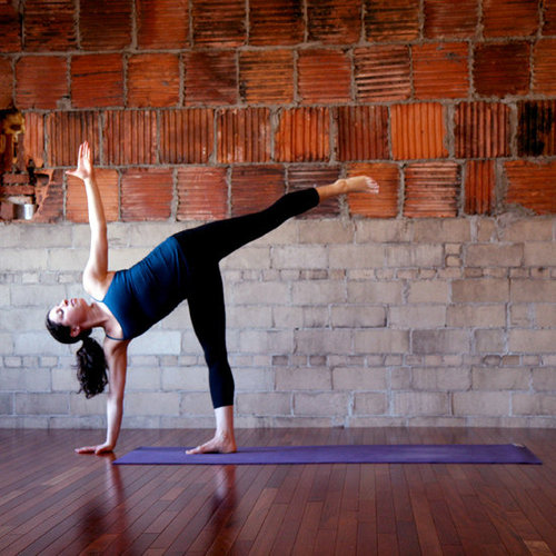 Standing Yoga Sequence to Work Legs