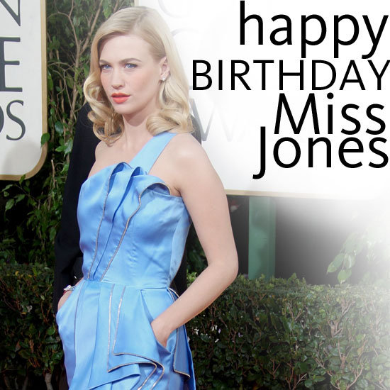 Happy Birthday January Jones! We Style Stalk the Mad Men Star's Top Ten Red Carpet Looks