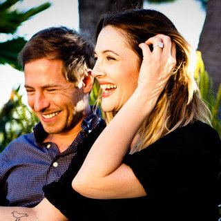 Drew Barrymore Engagement Pictures With Will Kopelman