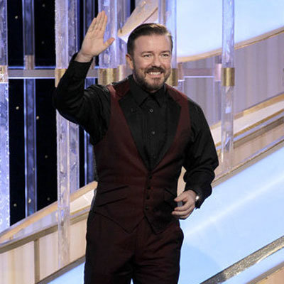 Best 2012 Golden Globes Quotes From Ricky Gervais, Madonna, Seth Rogen, George Clooney and More