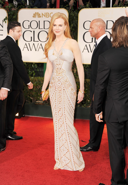 Nicole Kidman on the red carpet.