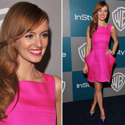 Ahna O'Reilly at Golden Globes InStyle Afterparty 2012