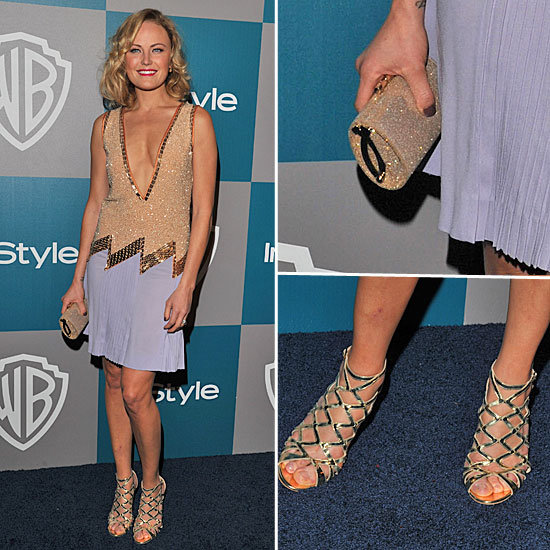 Malin Akerman at InStyle Golden Globes Afterparty