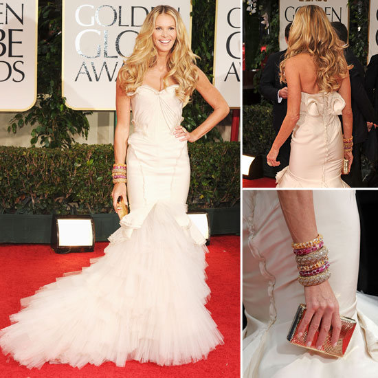 Elle Macpherson Golden Globes 2012