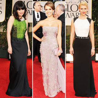 Sparkle and Shine Ruled The 2012 Golden Globes Red Carpet