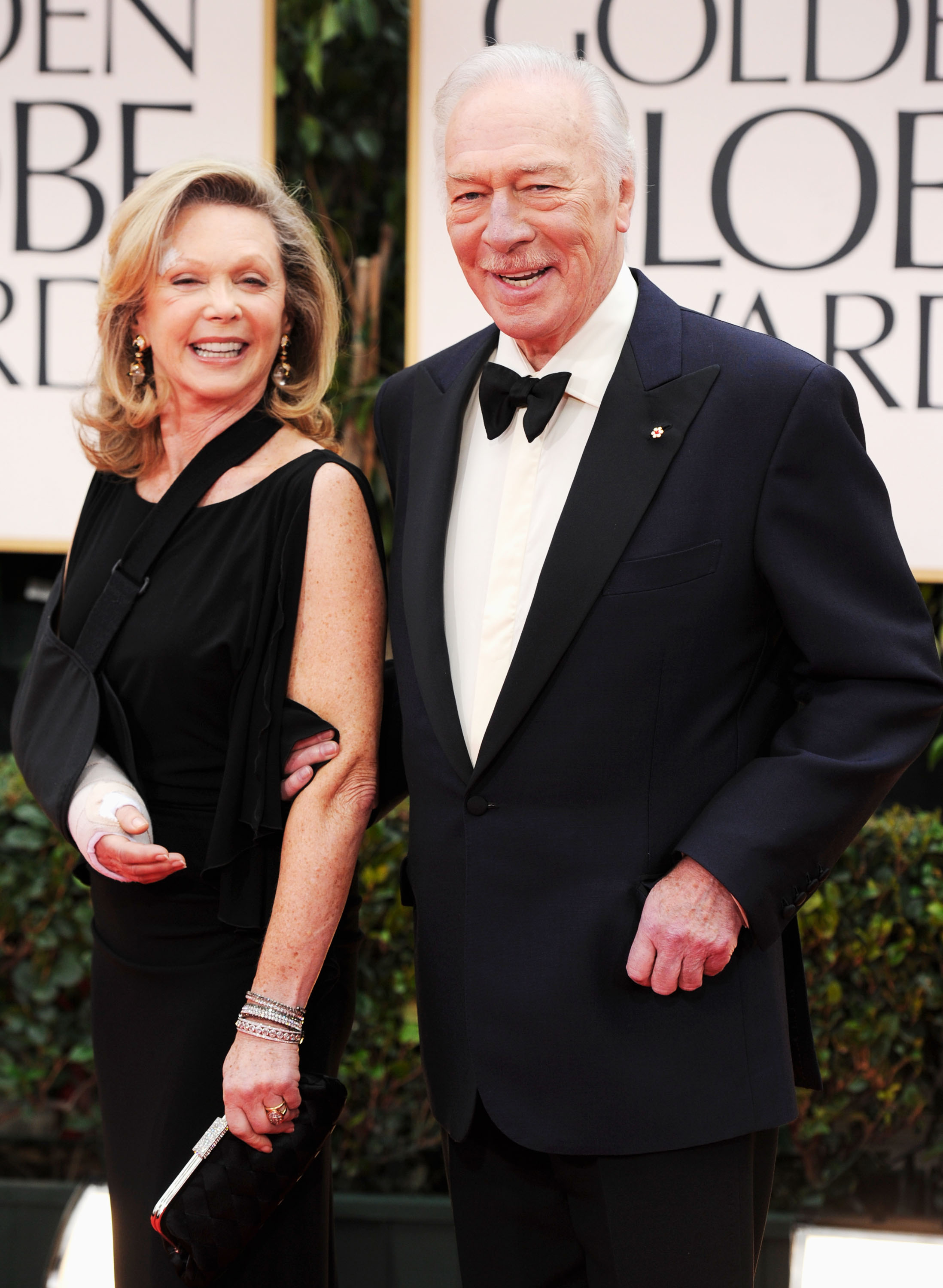 Nominee Christopher Plummer and his wife of over 40 years ...