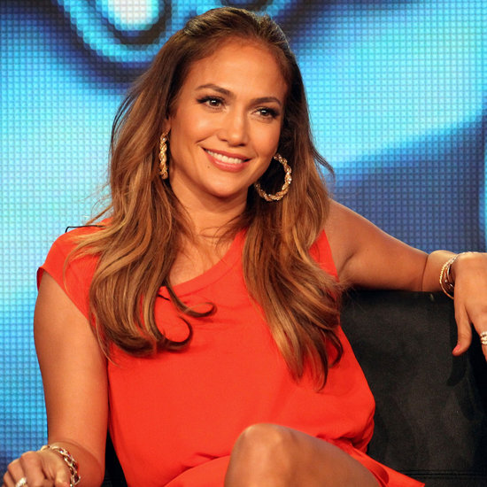 Jennifer Lopez Winter 2012 TCA Pictures