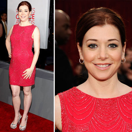 Alyson Hannigan at 2012 People's Choice Awards