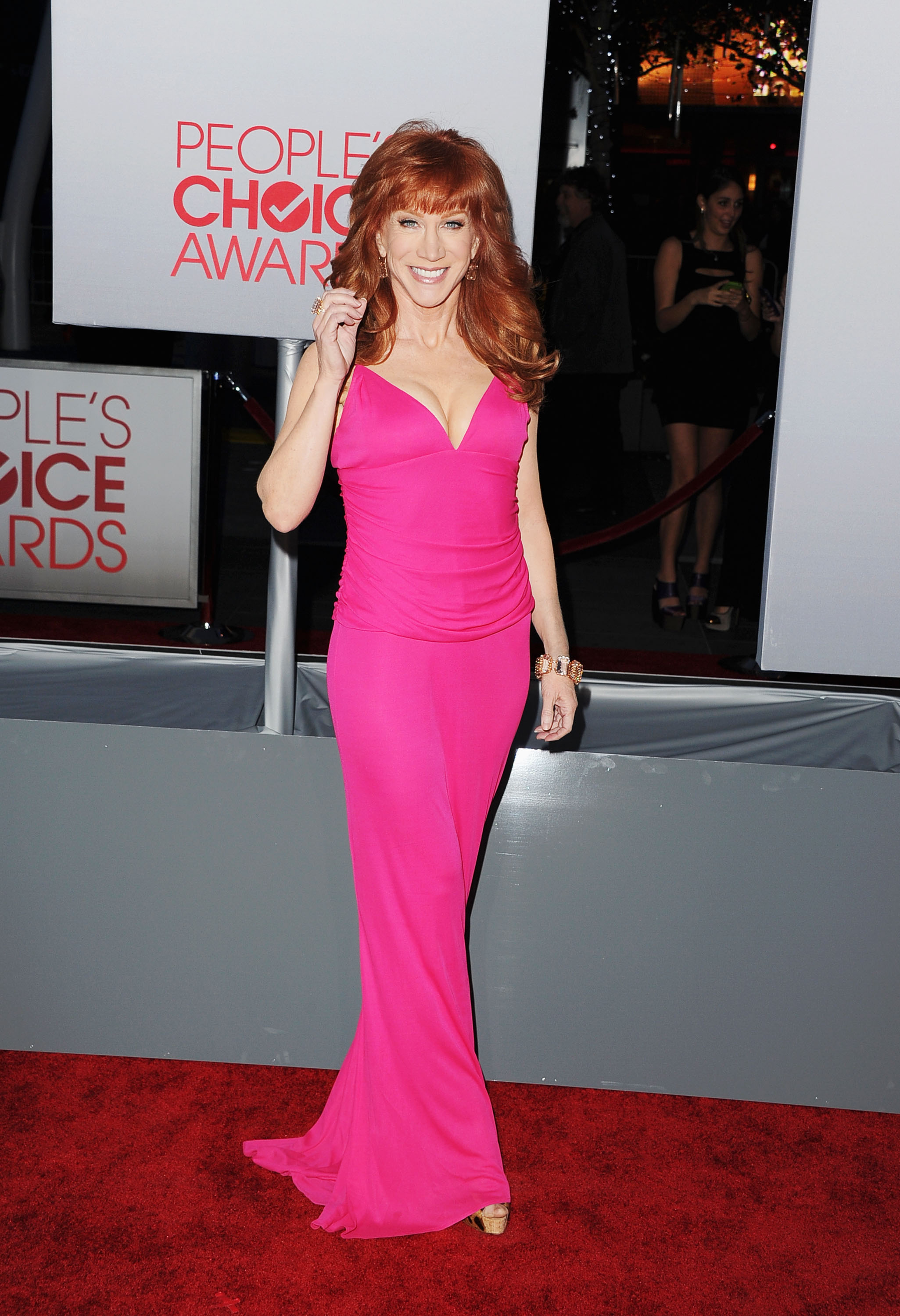 Kathy Griffin kicked off the 2012 award season with the People's Choice Awards.
