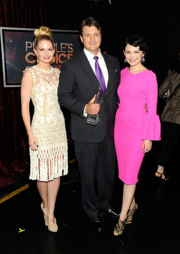 Jennifer, Nathan, and Ginnifer