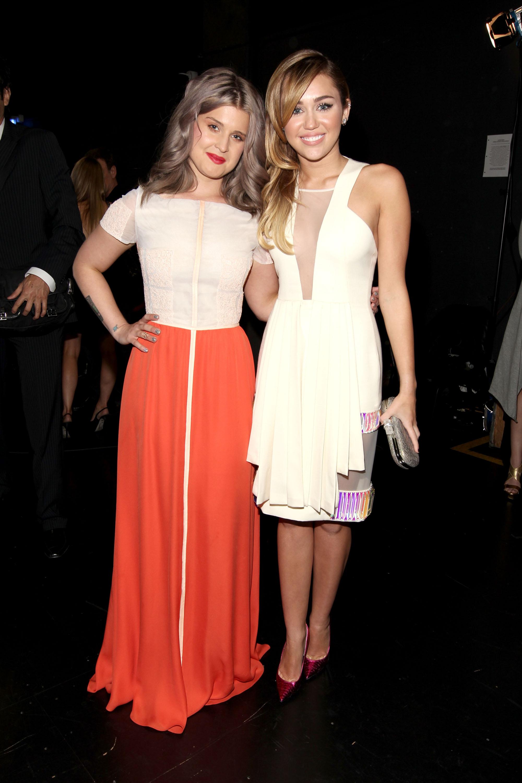 Kelly Osbourne and Miley Cyrus