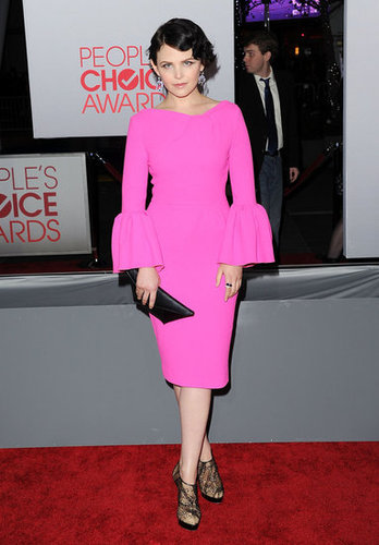 Ginnifer Goodwin had bell sleeves on the red carpet.