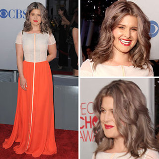 Kelly Osbourne in Colour Blocked Honor Gown on the 2012 People's Choice Awards Red Carpet