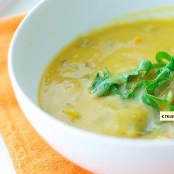 Creamy Swiss Chard Soup Recipe
