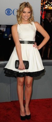 Designer of Ashley Benson's Dress at People's Choice Awards