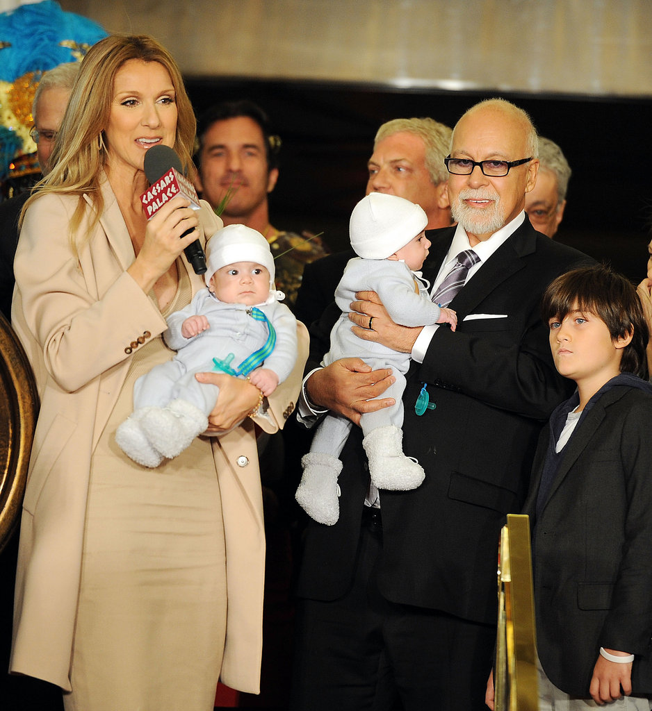 """While undergoing IVF treatments, Celine Dion spoke with Oprah Winfrey about her fertility struggles in 2010: """"They said that I was pregnant, and a couple of days after, we were not pregnant again. We didn't want to feel like we were playing yo-yo. 'I'm pregnant. I'm not pregnant. I'm pregnant. I'm not pregnant.' So we didn't want to do this thing. But we did have a miscarriage . . . I never gave up. But I can tell you that it was physically and emotionally exhausting."""""""