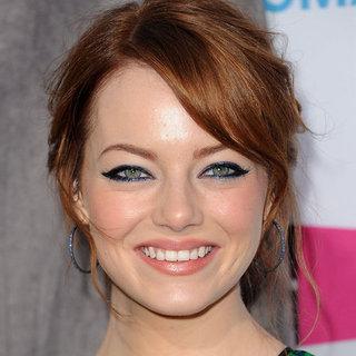 Emma Stone's Hair and Makeup Look at the 2012 Critics' Choice Awards
