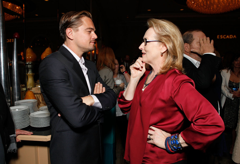 Leo, Michelle, Charlize, Meryl, and More Sip to Award Season at BAFTA's Tea