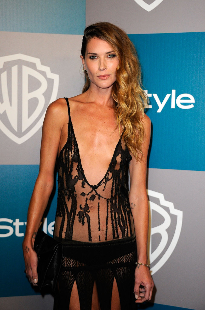 Erin Wasson on the red carpet.