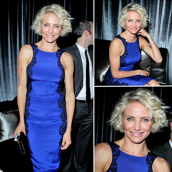 Cameron Diaz at Golden Globes Afterparty 2012
