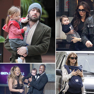 Celebrities and Their Children Pictures January 16, 2012