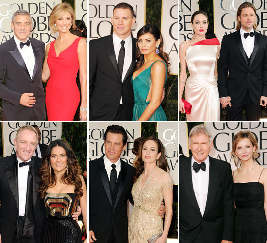 Love on the Red Carpet: See the Celebrity Couples at the Golden Globes!