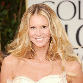 Elle Macpherson's 2012 Golden Globes Hair and Makeup Look