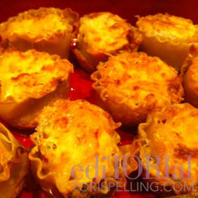 Tori Spelling's Lasagna Recipe