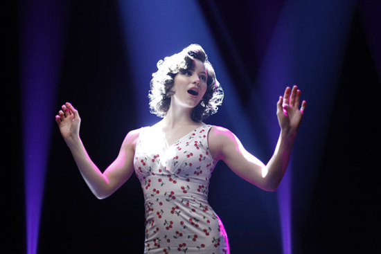 Katharine McPhee in Smash.