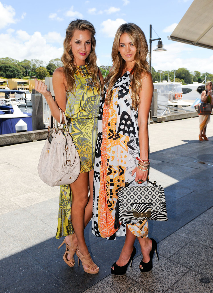 Laura Dundovic and Jesinta Campbell