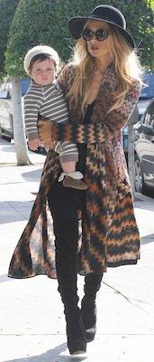 Designer of Rachel Zoe's Colorful Zigzag Sweater