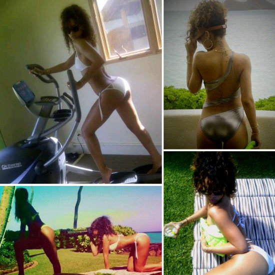 Rihanna Shares Sexy Pictures From Her Hawaiian Vacation!