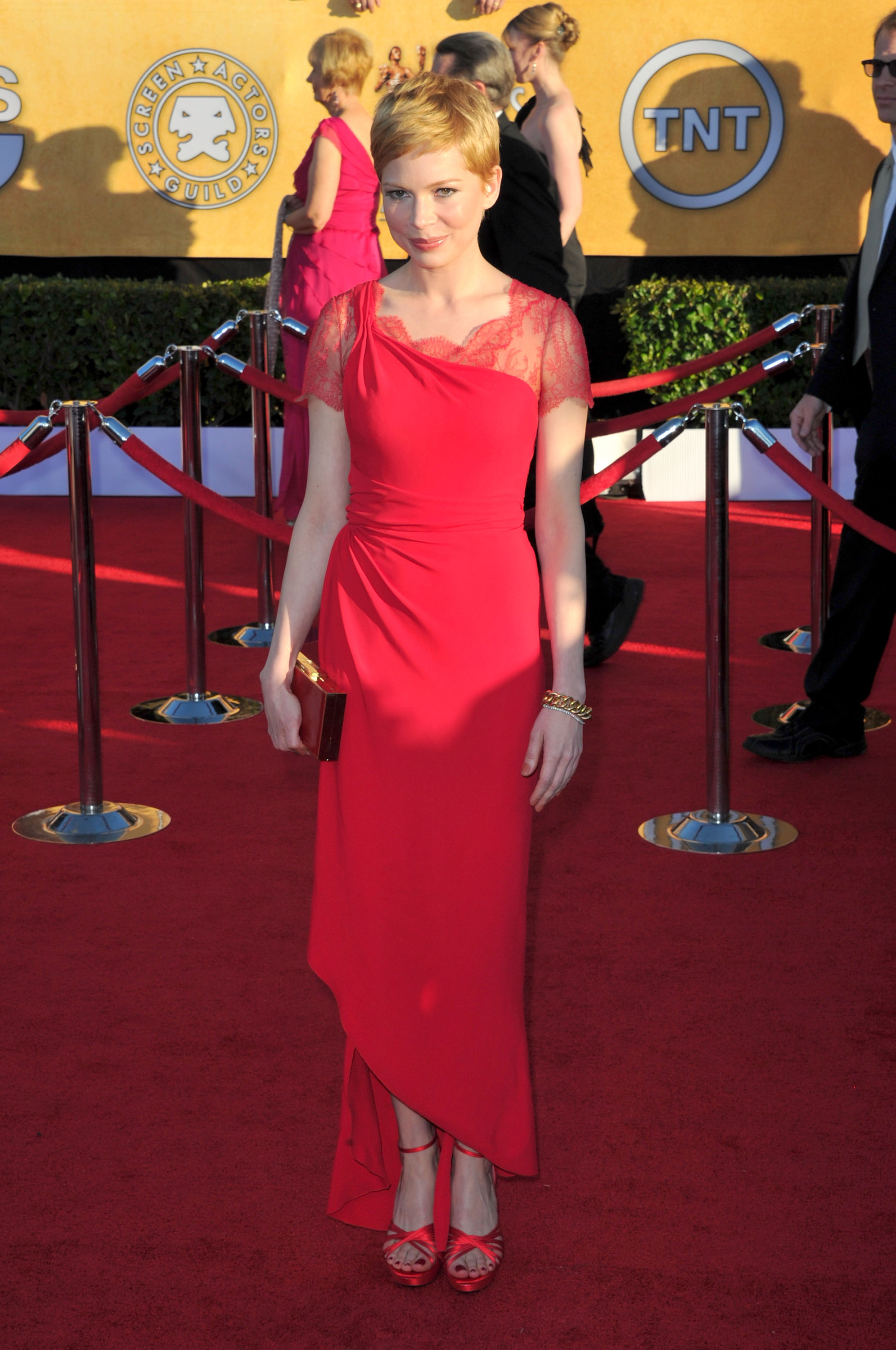 Michelle Williams at the SAG Awards