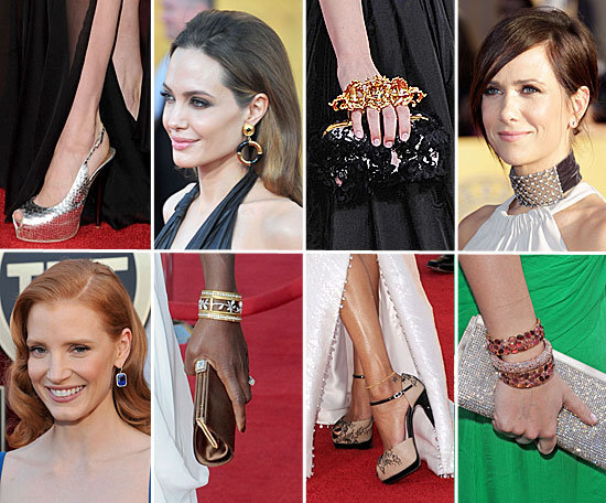 SAG Awards Accessory Report: The Best Bags, Shoes, and Jewels