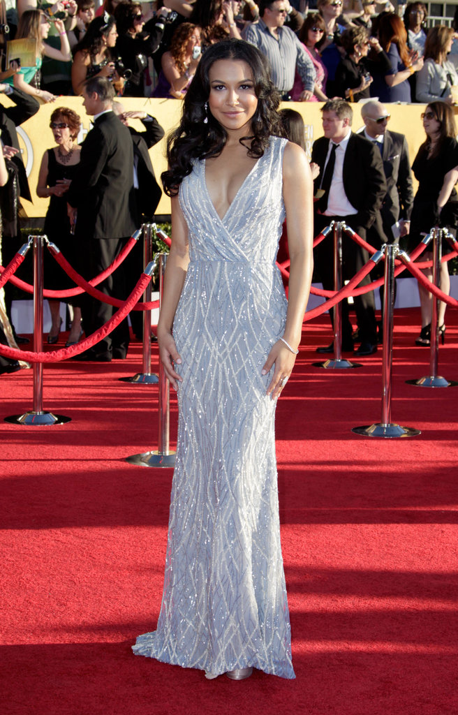 Standout Gray and Silver Gowns