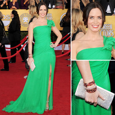 Emily Blunt at the SAG Awards 2012