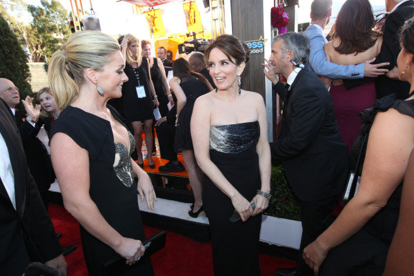 Tina Fey hit the red carpet. Twitter User: SAGawards