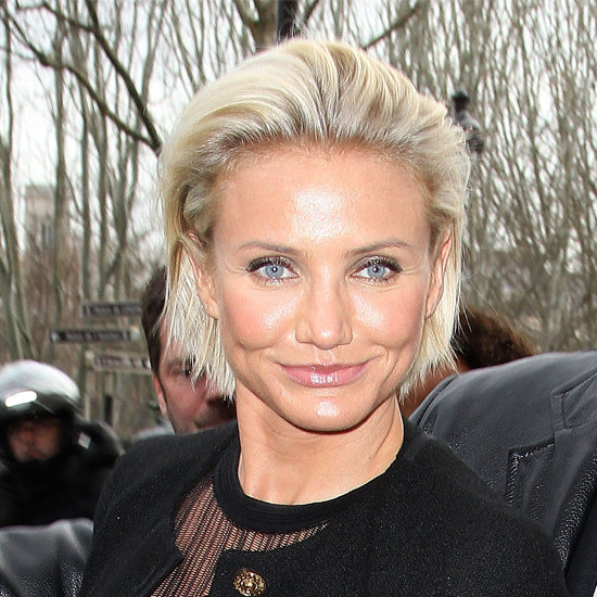 Cameron Diaz New Short Hairstyles