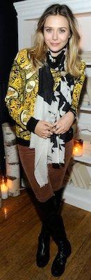 Elizabeth Olsen at Sundance 2012