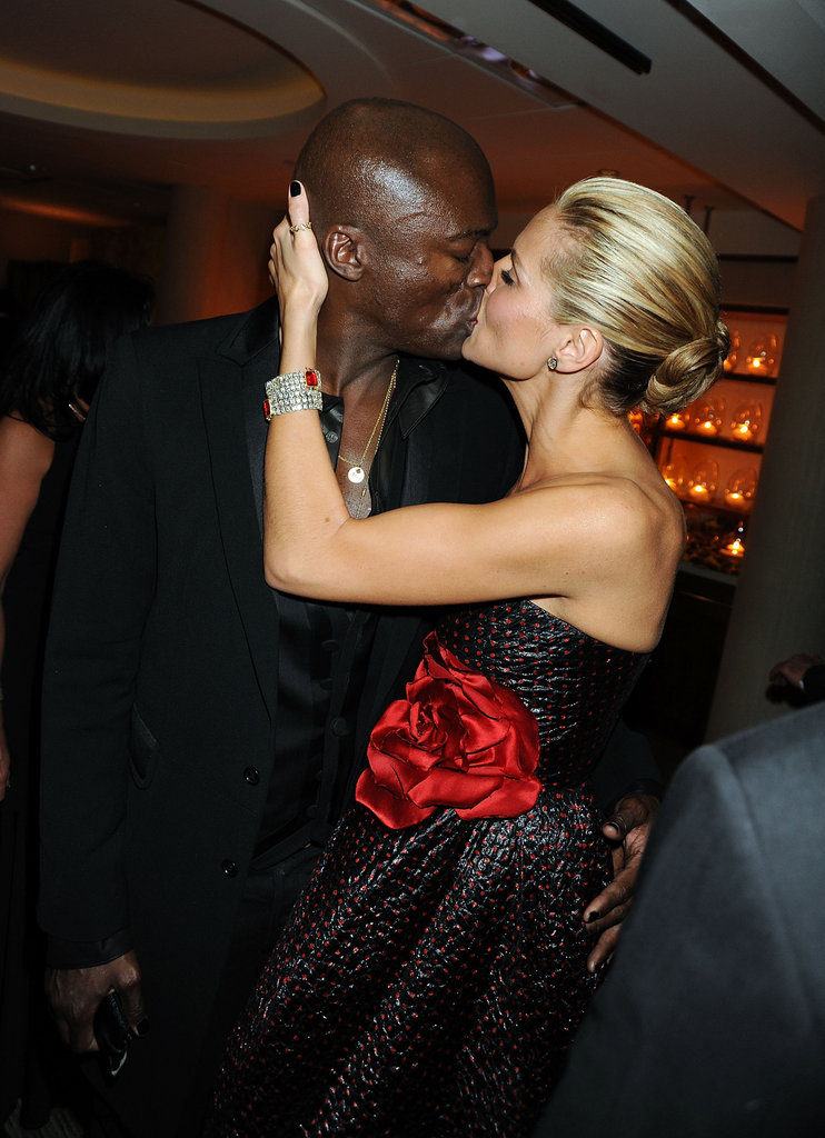 Seal and Heidi Klum attended the official HBO after party for the 66th Annual Golden Globe Awards in January 2009.